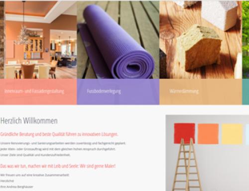 Unser neue Homepage ist online…